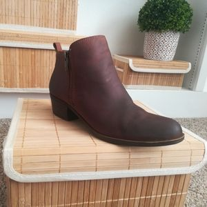 Brown Lucky Brand Booties